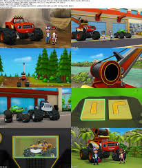 tow truck videos monster truck blaze and the monster machines s03e15 tow truck team 1080p nick