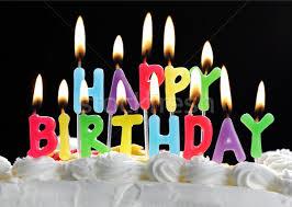 happy birthday candle happy birthday candles on a cake stock photo brian jackson