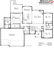 kennedy compound floor plan the kennedy residential construction in sioux city ia brown