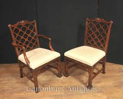 dining rooms cozy antique gothic dining chairs set of mahogany