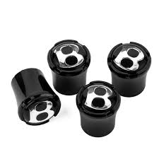 bentley logo logo black tire valve caps