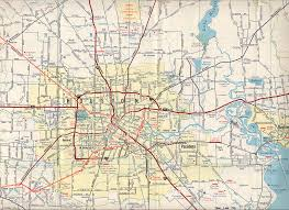 Old Texas Map Texasfreeway U003e Houston U003e Historical Information U003e Old Road Maps
