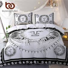 Black And White Bed Sheets Online Get Cheap Black White Bed Set Aliexpress Com Alibaba Group