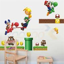 Super Mario Home Decor Super Mario Bedroom Home Furniture U0026 Diy Ebay