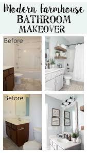 modern bathroom ideas on a budget modern farmhouse bathroom makeover reveal modern farmhouse
