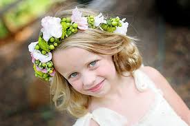 hair corsage corsage boutineers and flower flower girl hair wreath
