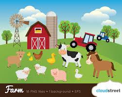 farm animals clipart printable pencil and in color farm animals