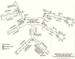 Denver Terminal B Map Atlanta Airport In The Late 1970s Sunshine Skies