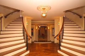 Stair Cases Lower Level Dual Staircases Pricey Pads