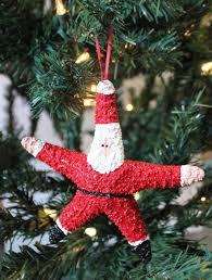starfish santa ornament handmade in huntington ca usa