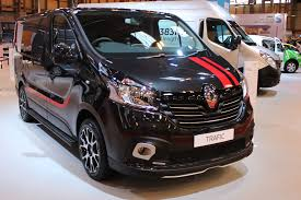 renault trafic 2017 renault trafic view at the cv show 2016 commercial vehicle dealer