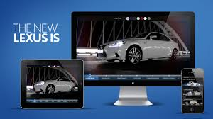 new lexus glasgow lexus brings new generation is to life with interactive movie from
