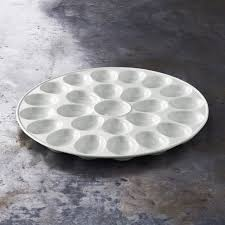 deviled egg tray with lid deviled egg platter williams sonoma