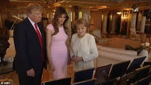 Trump S Penthouse Melania Trump Defends And Supports Her Husband Donald In First