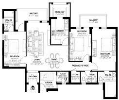 Dlf New Town Heights Sector 90 Floor Plan Dlf Builders Dlf New Town Heights 3 Floor Plan Dlf New Town