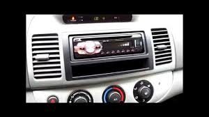camry pioneer stereo install youtube