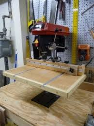 Diy Drill Press Table by Homemade Auxiliary Drill Press Table Homemadetools Net