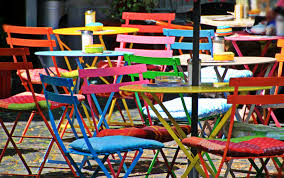 Garden Bistro Chair Cushions Free Images Cafe Play Chair City Color Furniture Colorful