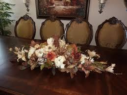 Home Decor Silk Flower Arrangements Silk Flower Arrangements For Dining Room Table 16417