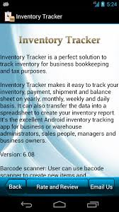 Spreadsheet App For Android Tablet Amazon Com Inventory Tracker Appstore For Android