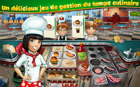 jeux de cuisines cooking fever applications sur play