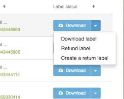 how to create return labels in shippo shippo