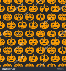 halloween background funny vector illustration cartoon hand drawn background stock vector