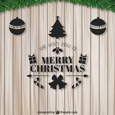 we wish you a merry card vector free