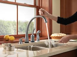 delta touch kitchen faucet delta faucet rp50781 gala soap lotion dispenser chrome in sink