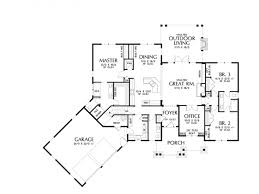 eplans craftsman house plan u2013 handsome craftsman ranch with great