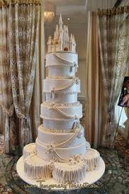 cinderella wedding cake this cinderella castle wedding cake will command attention at your