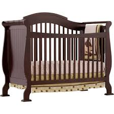 Convertible 4 In 1 Cribs Storkcraft Valentia 4 In 1 Convertible Crib Espresso Walmart
