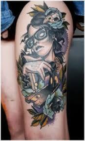 female thigh tattoos designs 725628 tattoo love