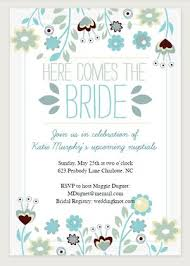 bridal shower registry free printable bridal shower invitations