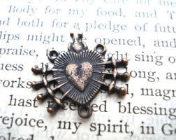 rosary of the seven sorrows seven sorrows etsy