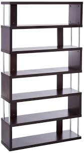 baxton studio lindo bookcase single pull out shelving cabinet cheap dark brown bookcase find dark brown bookcase deals on line at