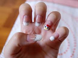 nail art on french gallery nail art designs