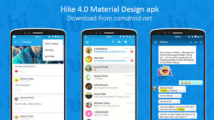 hike material design update 4 0 official apk download android