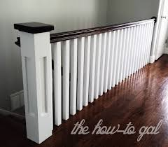 How To Build A Banister For Stairs Best 25 Banister Remodel Ideas On Pinterest Staircase Remodel