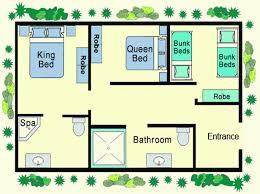 cottages floor plans beautiful ideas house floor plan design 2 bedroom bungalow plans