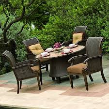 Furniture Farmhouse Outdoor Furniture Style With Lowes Picnic by Patio Amazing Patio Table With Umbrella Small Patio Table With