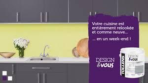 Credence Autocollante Cuisine Rénover Sa Cuisine Avec La Peinture Design U0026vous Tollens Youtube