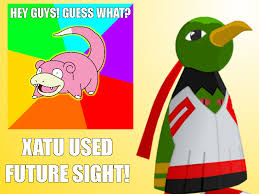 Slow Poke Meme - can t stand waiting for the right time to use the slowpoke meme