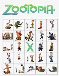 35 theme zootopia images free printables