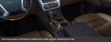 Gmc Acadia Denali Interior Gmc Acadia Denali U2014 Bob King Automall