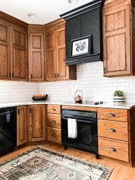 oak kitchen cabinets a comeback how to make an oak kitchen cool again copper corners