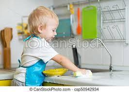 cuisine enfant garcon garçon blond cuisine jouer enfant enfant garçon blond