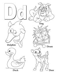 geography blog letter d coloring pages