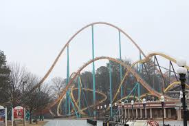 Six Flags Over Ga Address Twisted Cyclone Construction Tour February 2018 Coaster101