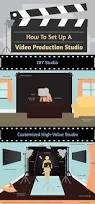 how to diy home video recording studio setup video editing how to set up a home video studio diy infographic